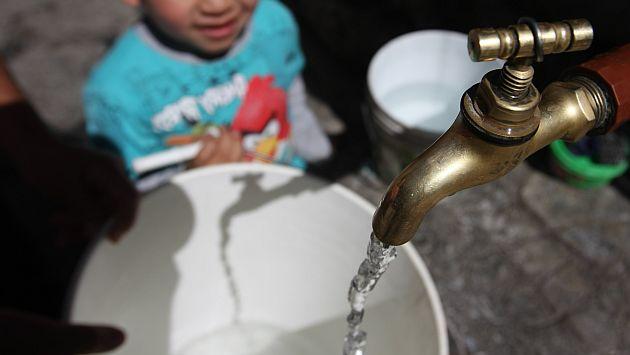 Sedapal reducirá presión del agua en las noches por ausencia de lluvias