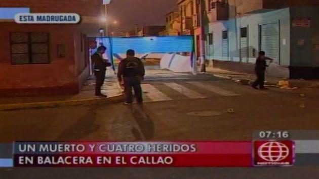 Callao: Un muerto y 8 heridos dejaron dos balaceras que causaron pánico en los  vecinos. (América)