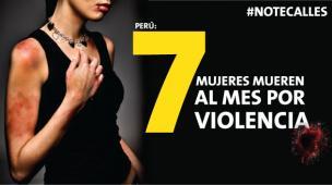 Al mes mueren 7 mujeres por violencia en el Perú [Especial]