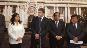 Nacionalismo busca censurar a titular de la Comisión de Fiscalización