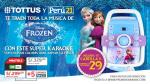 Con Perú21 llévate el karaoke de la película 'Frozen' a casa - Noticias de impresa