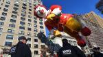 Día de Acción de Gracias: Nueva York extremó seguridad en tradicional desfile de Macy's [Fotos] - Noticias de william bratton