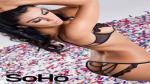 Claudia Abusada se luce como una sexy mesera en la edición de aniversario de SoHo Perú [Fotos] - Noticias de claudia abusada