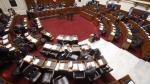 Parlamentarios. Debatieron proyecto de ley para el 2016. (Anthony Ramírez)