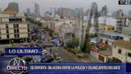 Lince: Reportan enfrentamiento entre policías y delincuentes. (Canal N)