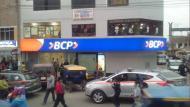 Asaltan agencia bancaria en Comas (Twitter:@silma90)