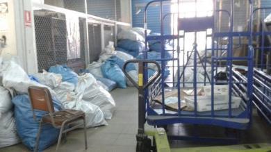 Serpost: Gran cantidad de encomiendas sin entregar permanece en almacenes debido a huelga de trabajadores [Fotos]