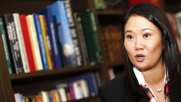 """Keiko Fujimori: """"En el gobierno de mi padre sí hubo corrupción"""" [Video]"""