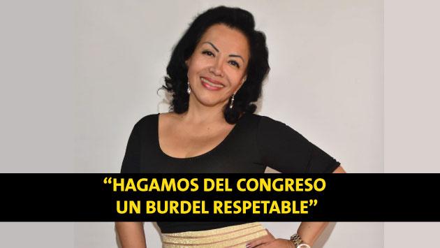 Del prostíbulo al congreso: Trabajadora sexual se busca ser parlamentaria. (Facebook)