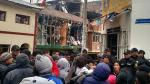 Huancavelica: Explosión en el Mercado Central generó alarma. (WhatsApp El Comercio)