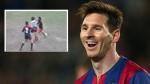 El jugador del Barcelona anotó este golazo cuando solo tenía doce años. (USI)