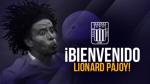 Alianza Lima: Lionard Pajoy es el nuevo jale del club íntimo para el 2016 - Noticias de mauro guevgeozian