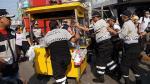 La Victoria: Desalojan a más de 500 ambulantes del emporio de Gamarra. (Difusión)