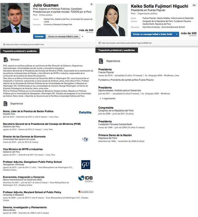 Por qué Julio Guzmán usa LinkedIn? | Cheka | Redes Sociales | Peru21
