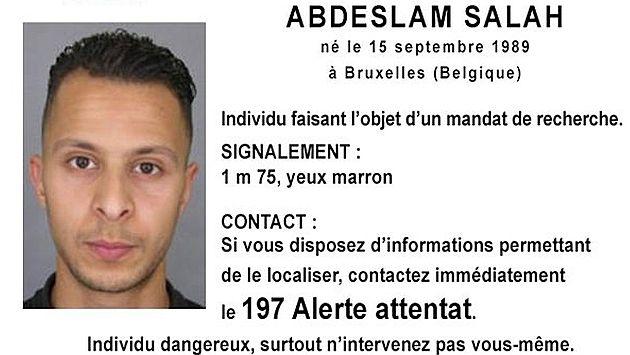 Bélgica ubicó a Salah Abdeslam, pero no lo detuvo porque era de noche. (Reuters)