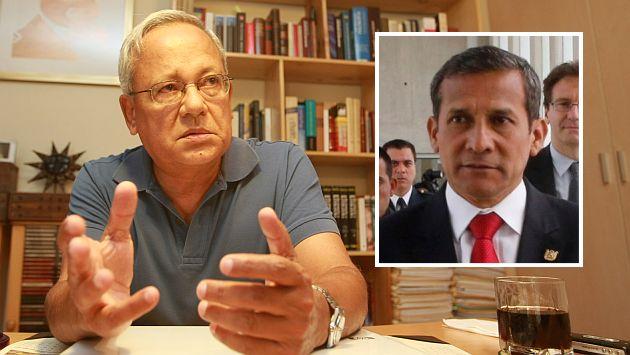 """Hildebrandt sobre Humala: """"Lo volvieron un presidente funcional a los grandes intereses"""". (Perú21)"""