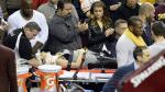LeBron James cayó sobre la esposa del golfista Jason Day y la mandó al hospital [Video] - Noticias de hospital de cleveland