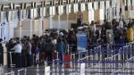 Chile: 12 terminales paralizados en cuarto día de huelga de trabajadores aeroportuarios [Fotos] - Noticias de iquique