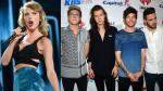 Taylor Swift y One Direction tuvieron las giras musicales más exitosas del 2015 - Noticias de concierto de marc anthony