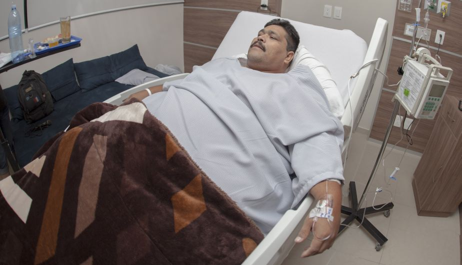 Andrés Moreno, el hombre más obeso del mundo, falleció a causa de un infarto
