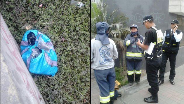 Bombas lacrimógenas fueron halladas en bolsas. (@markofelix)