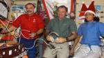 NASA: Así disfrutan los astronautas las fiestas navideñas en la estación espacial [Fotos] - Noticias de plutón