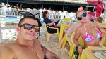 Mario Hart y Leslie Shaw adelantan su verano y disfrutan de vacaciones en Brasil [Fotos] - Noticias de automovilismo