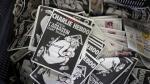 """'Charlie Hebdo': Su nueva portada genera controversia por mostrar a un """"dios asesino"""" - Noticias de laurent bruxelles"""