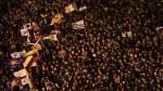 Francia y España: Miles de personas se manifestaron en apoyo a los prisioneros de ETA [Fotos] - Noticias de país vasco