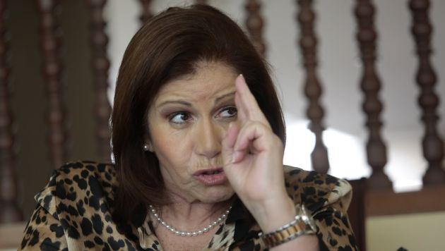 Experiencia. Considera que un gobierno de Alianza Popular será consagratorio y con gran madurez política. (Nancy Dueñas)