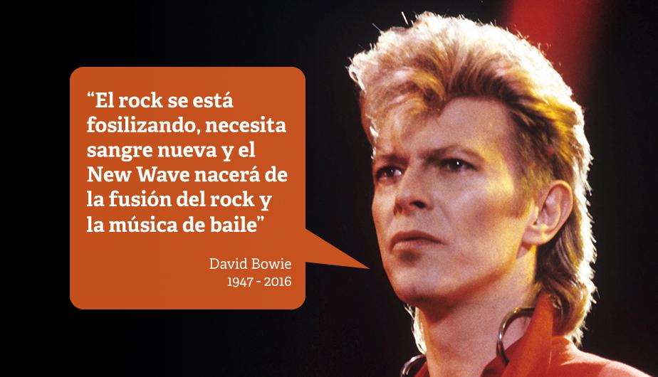 David Bowie 11 Frases Que Dejó La Leyenda Del Rock Inglés
