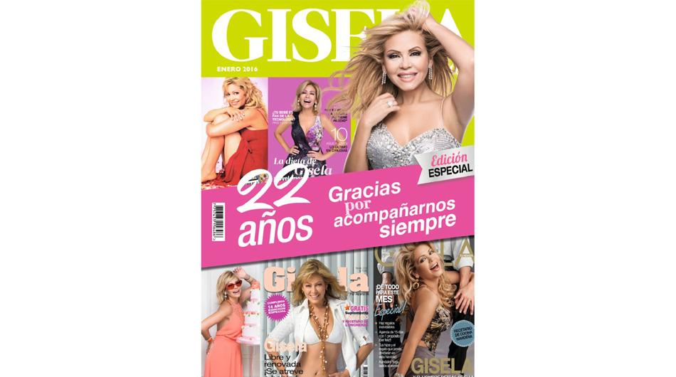 Gisela valc rcel se despidi de su revista tras 22 a os de for Revistas de espectaculos