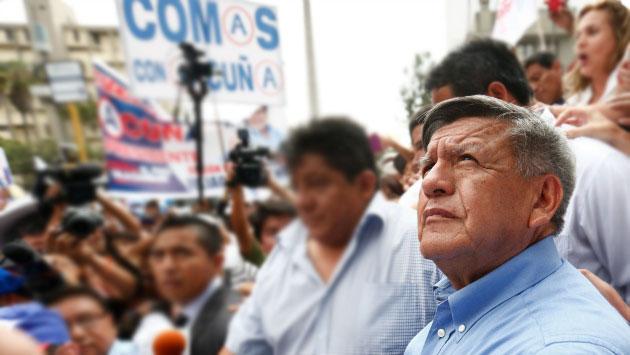 Pulso Perú: César Acuña descendió en un mes (Anthony Niño de Guzmán)