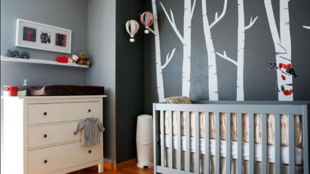 Atr vase a usar tonos grises en cuartos infantiles for Habitaciones en tonos grises