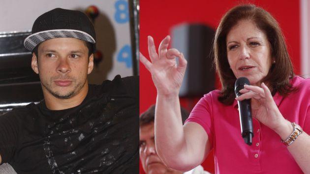 """Lourdes Flores: """"Mario Hart representa a la juventud que quiere tener una vida digna"""". (Perú21)"""