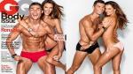 Cristiano Ronaldo y Alessandra Ambrosio protagonizan sensual sesión fotográfica  para la revista GQ - Noticias de sueldo millonario