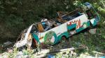 Junín: Caída de bus al río Tarma dejó 16 muertos - Noticias de empresa de transporte flores