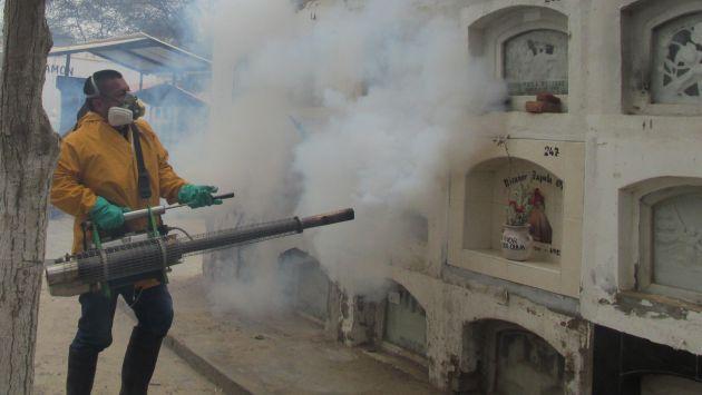 Fumigación busca prevenir la aparición del dengue.