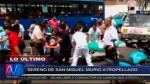 San Miguel: Sereno de 25 años murió atropellado por cúster que competía con otro vehículo [Video] - Noticias de clinica ventura