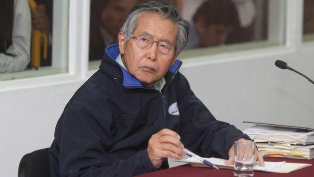 Alberto Fujimori fue internado por deshidratación y lesión en la lengua. (Trome)