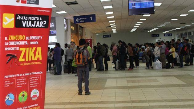 Zika: Perú refuerza vigilancia en puertos, aeropuertos y puestos fronterizos. (@MinsaPerú en Twitter)