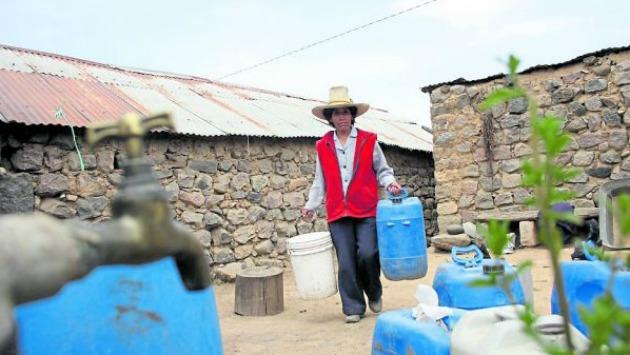 Tacna se encuentra en situación de emergencia hídrica por falta de lluvias. (Perú21)