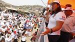 Keiko Fujimori aseguró que no se confía por las encuestas que la sitúan en primer lugar - Noticias de grillete electr��nico