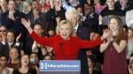 Hillary Clinton venció a Bernie Sanders por tres decimales en primarias del Partido Demócrata. (Reuters)
