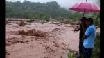 Pasco: Desborde de río inundó 70 viviendas y arrasó puente artesanal - Noticias de paucartambo