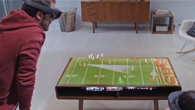 Fotografía Publicidad El Futuro De Los Deportes: Microsoft Nos Muestra Cómo Disfrutaremos De Los Deportes