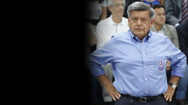 """César Acuña responde a Otoniel Alvarado: """"Es su palabra contra la mía"""""""