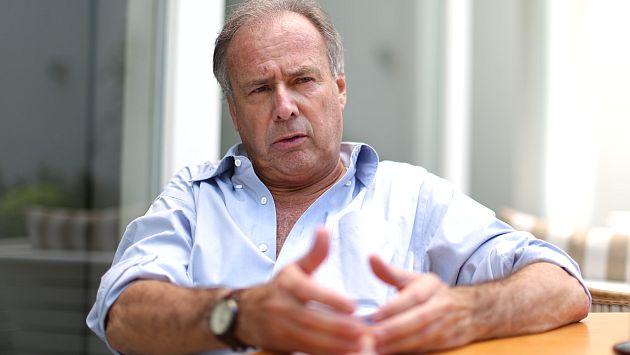 Alfredo Barnechea quiere un Estado que intervenga más. (Luis Gonzales)