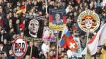 """islamofobia. Convocatoria a marcha que se opone a """"islamización de Occidente"""" atrajo a miles. (EFE)"""