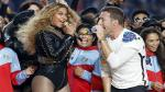 Super Bowl: Coldplay, Beyoncé y Bruno Mars cantaron abrazados en el medio tiempo del partido [Fotos] - Noticias de whitney houston